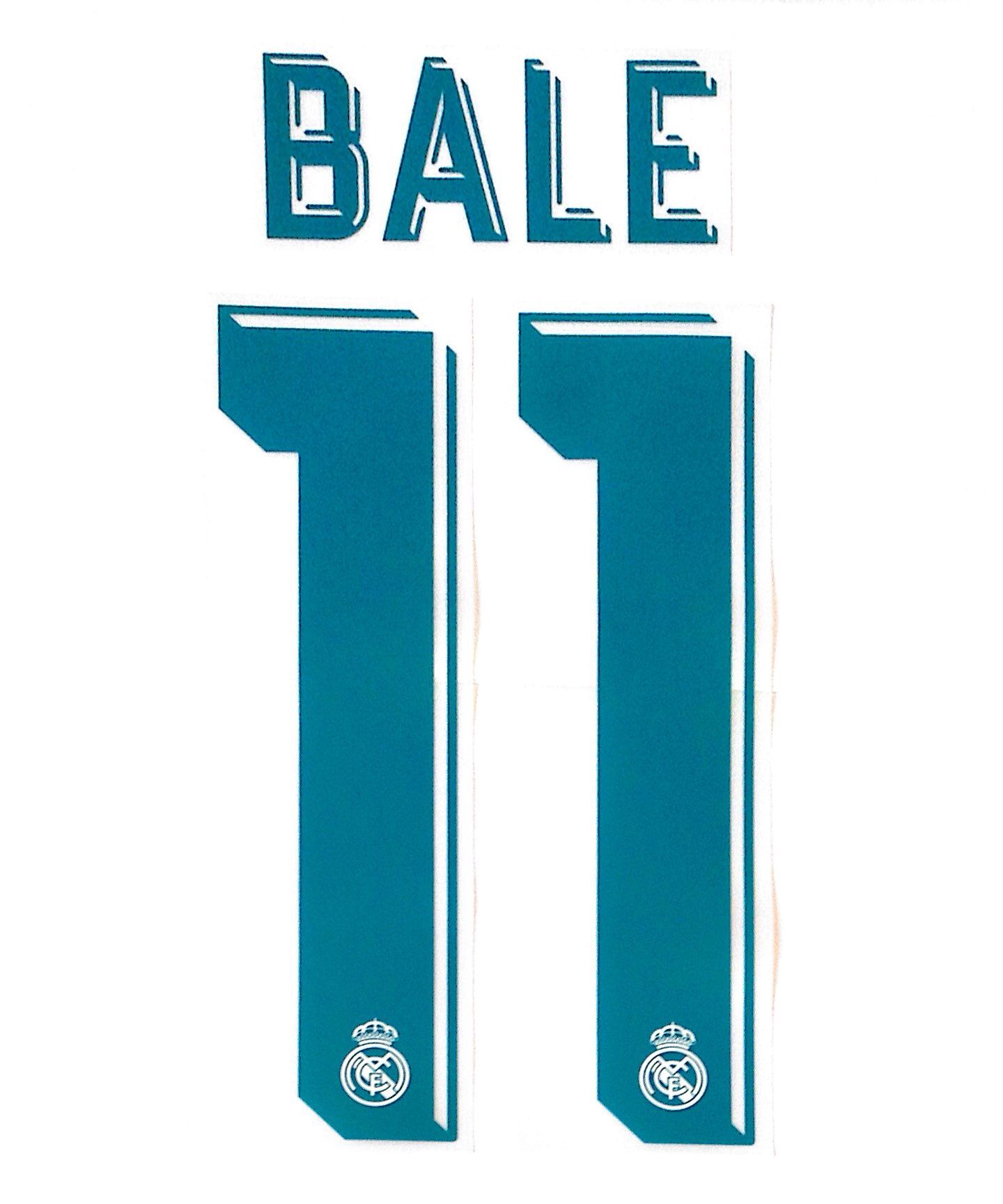 wholesale dealer f48b8 8cabf 2017-18 Real Madrid BALE 11 Home UCL Shirt OFFICIAL ...